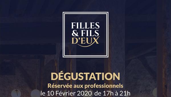 Dégustation OFF du salon Wine Paris le 10 Février 2020.