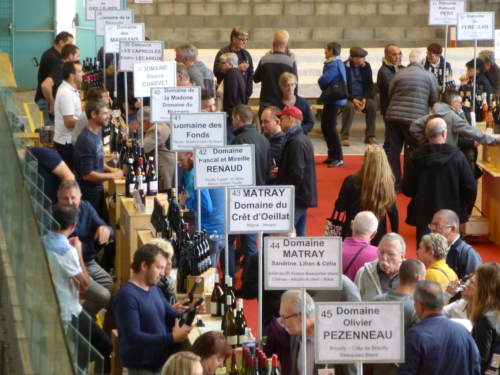 95eme marché aux vins de Fleurie